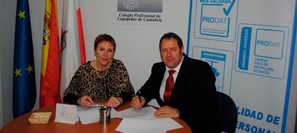 Firmado convenio de colaboración con el ILUSTRE COLEGIO PROFESIONAL DE LOGOPEDAS DE CANTABRIA