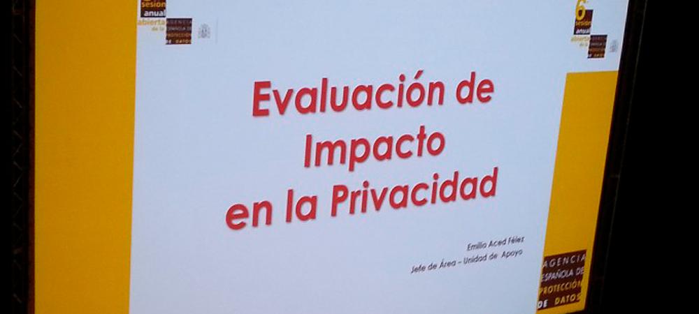 La AEPD presenta una Guía para una Evaluación de Impacto en la Protección de Datos Personales